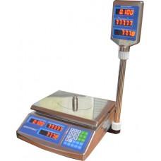 Весы торговые электронные F902H-30EDS Днепровес до 30 кг.