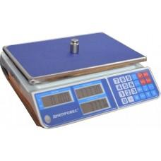 Весы торговые электронные F902H-15СL1  Днепровес до 15 кг.