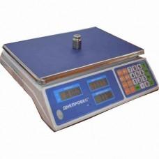 Весы торговые электронные F902H-30EL1 Днепровес до 30 кг.