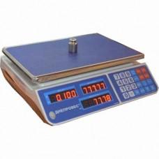 Весы торговые ВТД-15ЕЛ1 до 15 кг. (F902H-15EL1) Днепровес