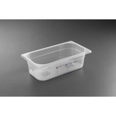 Гастроконтейнер из прозрачного полипропилена  HENDI HACCP GN 1/3-150