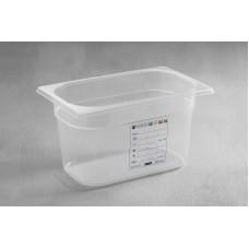 Гастроконтейнер из прозрачного полипропилена  HENDI GN HACCP 1/4-150