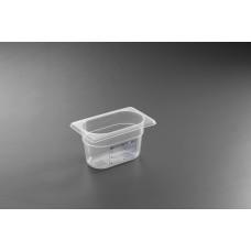 Гастроконтейнер из прозрачного полипропилена  HENDI GN HACCP 1/9-65