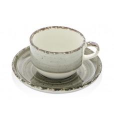 Чашка с блюдцем Agat 230 мл Fine Dine 775288