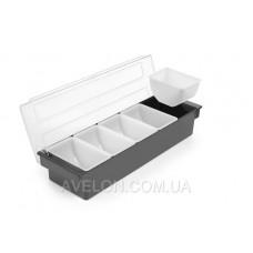 Контейнер для ингредиентов - 5 лотков, 495x160x(H)100 мм HENDI 552131