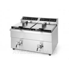 Фритюрница Kitchen Line - 2х8 л HENDI 215029