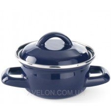 Кастрюля для супов и соусов - синяя 0,4 л Hendi 625804