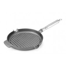 Чугунная сковорода гриль 25 cm HENDI 629925
