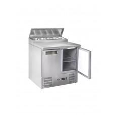 Стол холодильный 2-дверный с надставкой HENDI 236222