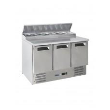 Стол холодильный 3-дверный с надставкой HENDI 236239