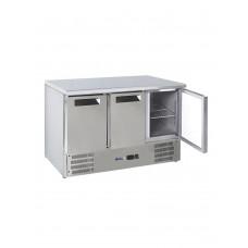 Стол холодильный 3-дверный со столешницей и нижним агрегатом HENDI 236147