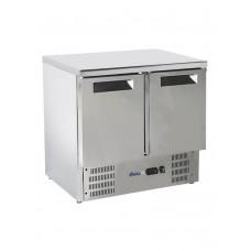 Стол холодильный со столешницей из нержавеющей стали HENDI 236130