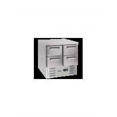 Стол холодильный с 4 ящиками и нижним агрегатом HENDI 236154