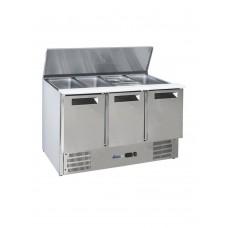 Стол холодильный саладетта 3-дверный с откидной крышкой HENDI 236178