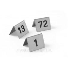 Набор табличек-номеров (1-12) HENDI 663844