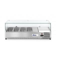 Витрина холодильная 4xGN 1/3 надставка HENDI 232965