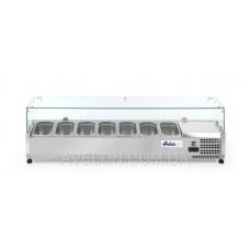 Витрина холодильная 7xGN 1/3 - надставка HENDI 232989