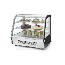 Витрина холодильная настольная 120 л HENDI 233702