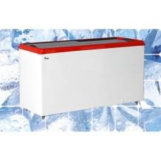 Ларь морозильный M500P JUKA с прямым стеклом