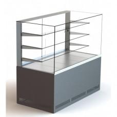 Кондитерская холодильная витрина ВХК КУБ 1.3 Д  Айстермо