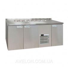 Холодильный стол для салатов Carboma SL 3GN