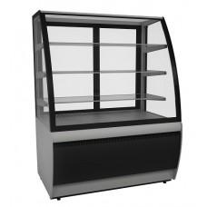 Кондитерская витрина холодильная ВХСв-0,9 д Carboma Люкс Техно (стеклопакет)