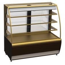 Кондитерская витрина холодильная открытая ВХСв-1,3 д Carboma