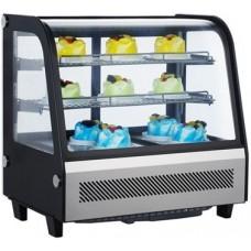 Настольная холодильная витрина EWT INOX RTW-105L