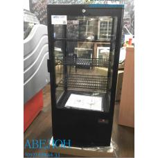 Настольный холодильный  шкаф FROSTY RT78L-3 black (наружный обдув)