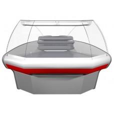 Витрина холодильная среднетемпературная  ВХСу-1 Carboma угловая