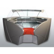 Витрина холодильная среднетемпературная  ВХСу-2 Carboma угловая