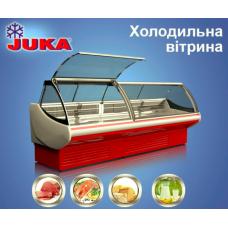 Холодильная витрина JUKA SGL190A газлифт