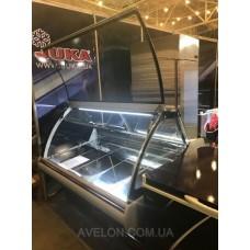 Холодильная витрина JUKA SGL130A газлифт