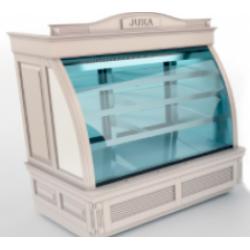 Новинка - кондитерские витрины JUKA