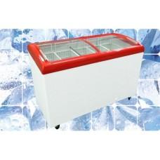 Ларь морозильный M400SB JUKA с гнутым стеклом