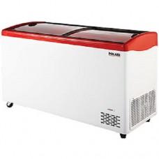 Морозильный ларь POLAIR DF140SC-S гнутое стекло