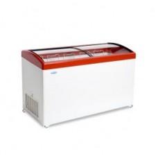 Ларь морозильный MЛГ 500 СНЕЖ гнутое стекло