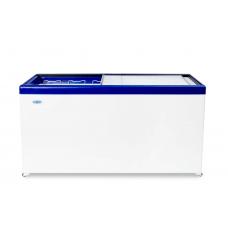 Ларь морозильный MЛП 600 СНЕЖ прямое стекло