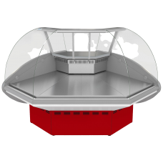 Витрина холодильная ВХС-УН ИЛЕТЬ угловая