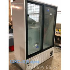 Шкаф холодильный ШХС-0.8 Айстермо (стеклянные двери-купе)