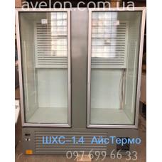 Шкаф холодильный ШХС-1.4 Айстермо со стеклянными дверями