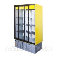 Витрина-шкаф холодильный ШХС-1.0 СПС (прозрачный)