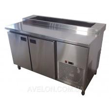 Стол холодильный для пиццы 1400х700х850 Tehma 98923
