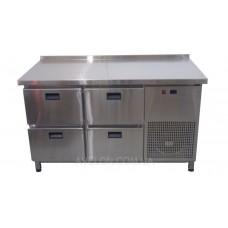 Стол холодильный 4 ящика 1400х700х850 Tehma 11932