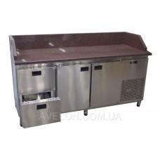 Холодильный стол с гранитной столешницей 1860х700х850 Tehma 13097
