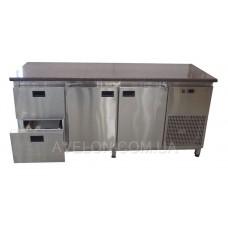 Холодильный стол 2 двери 2 ящика 1860х600х850 Tehma 14054