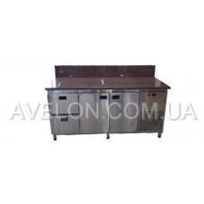 Холодильный стол с гранитной столешницей 1860х700х850 Tehma 14743