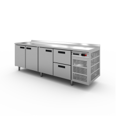 Стол холодильный Modern-Expo NRADBB с бортом