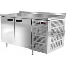 Стол холодильный Modern-Expo NRABAB с бортом, двухдверный