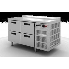 Стол холодильный Modern-Expo NRABCB с бортом, 4 ящика